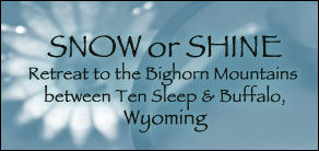 bighorn mountains cabins national forest cloud peak wilderness wyoming