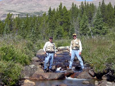 trout fishing stream fishing lake fishing big horn mountains wy